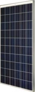Polykrystalinsk solcellepanel