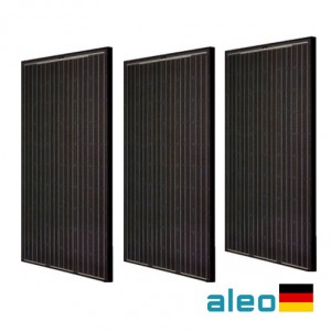 løsning private boliger aleo solar 260w solcelle pane