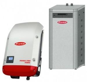 off-grid system til solceller sony batteri med fronius symo hybrid inverter