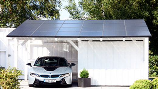 Kết quả hình ảnh cho carport med solceller