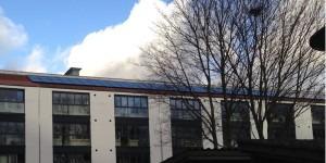 Andelsforening boligforening solceller montage på tag tagmontage mono monokrystallinske