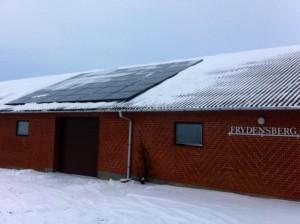 solcelle solcelleanlæg fabriksanlæg aarhus