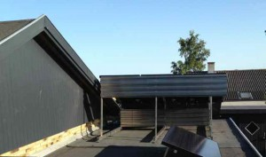 solcelle solcelleanlæg flattag