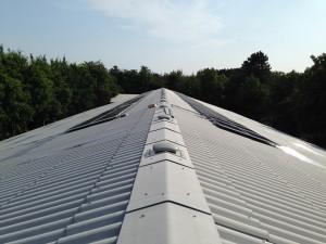 solcelle solcelleanlæg industrianlæg