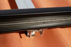 solcelle solcelleanlæg montageskinne solcpanel sen-50