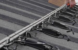 solcelle solcelleanlæg samslutning paneler tagpap
