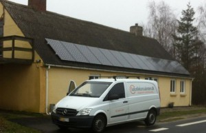 solcelle solcelleanlæg solcellekonsulenten service bil