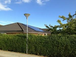 solcelle solcelleanlæg villa solpaneler